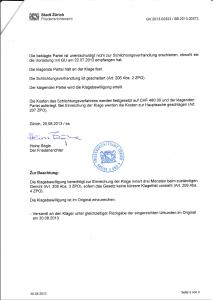 Klagebewilligung gegen METANET AG erteilt_Seite 2_20.08.2013